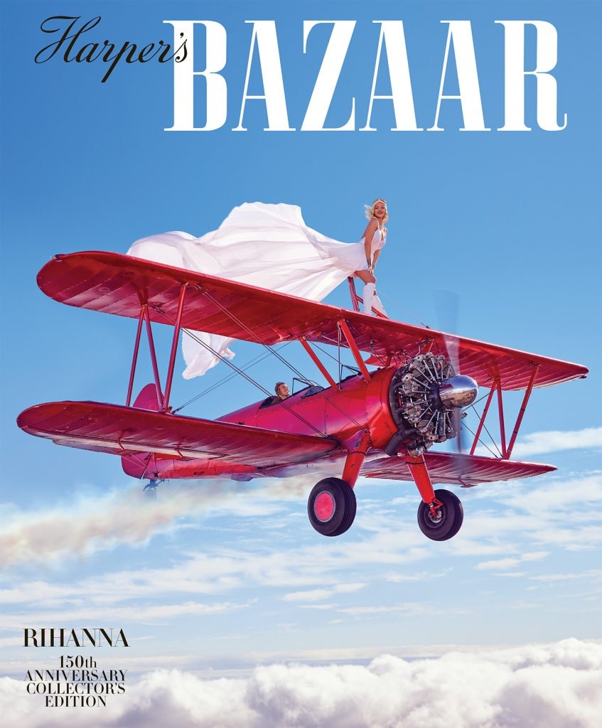 Rihanna Takes Flight