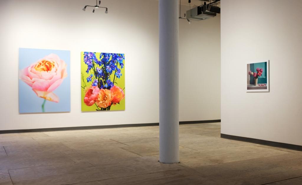 Portraits Nudes Flowers – Solo Exhibition