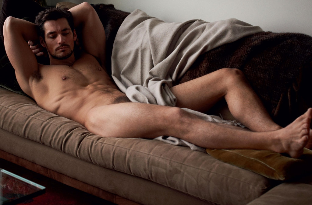 Remarkable, david gandy naked