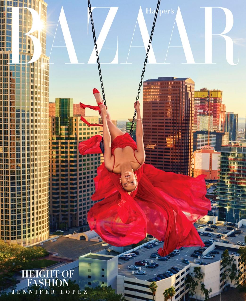 Jennifer Lopez by Mariano Vivanco for Harper's Bazaar, April 2018
