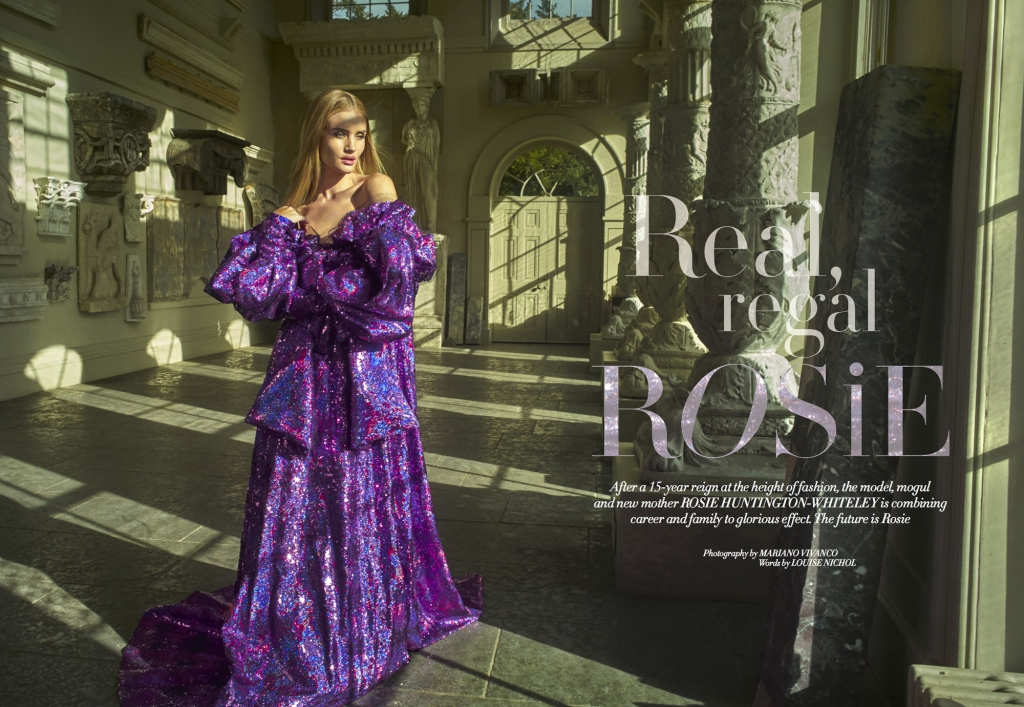 Real, Regal Rosie – Rosie Huntington-Whiteley