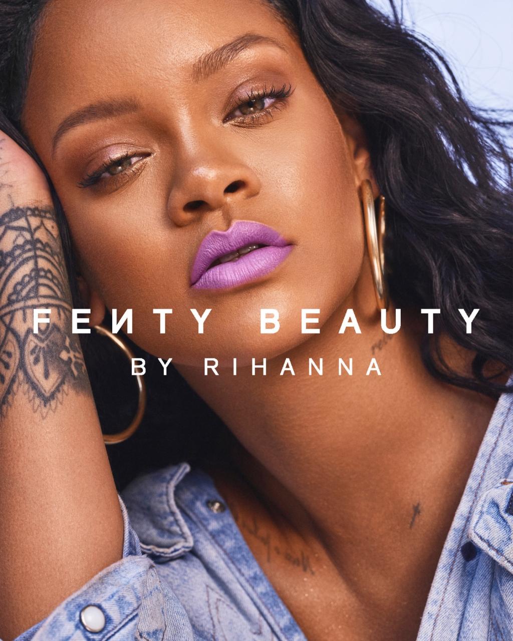 Fenty Beauty SS18 Campaign