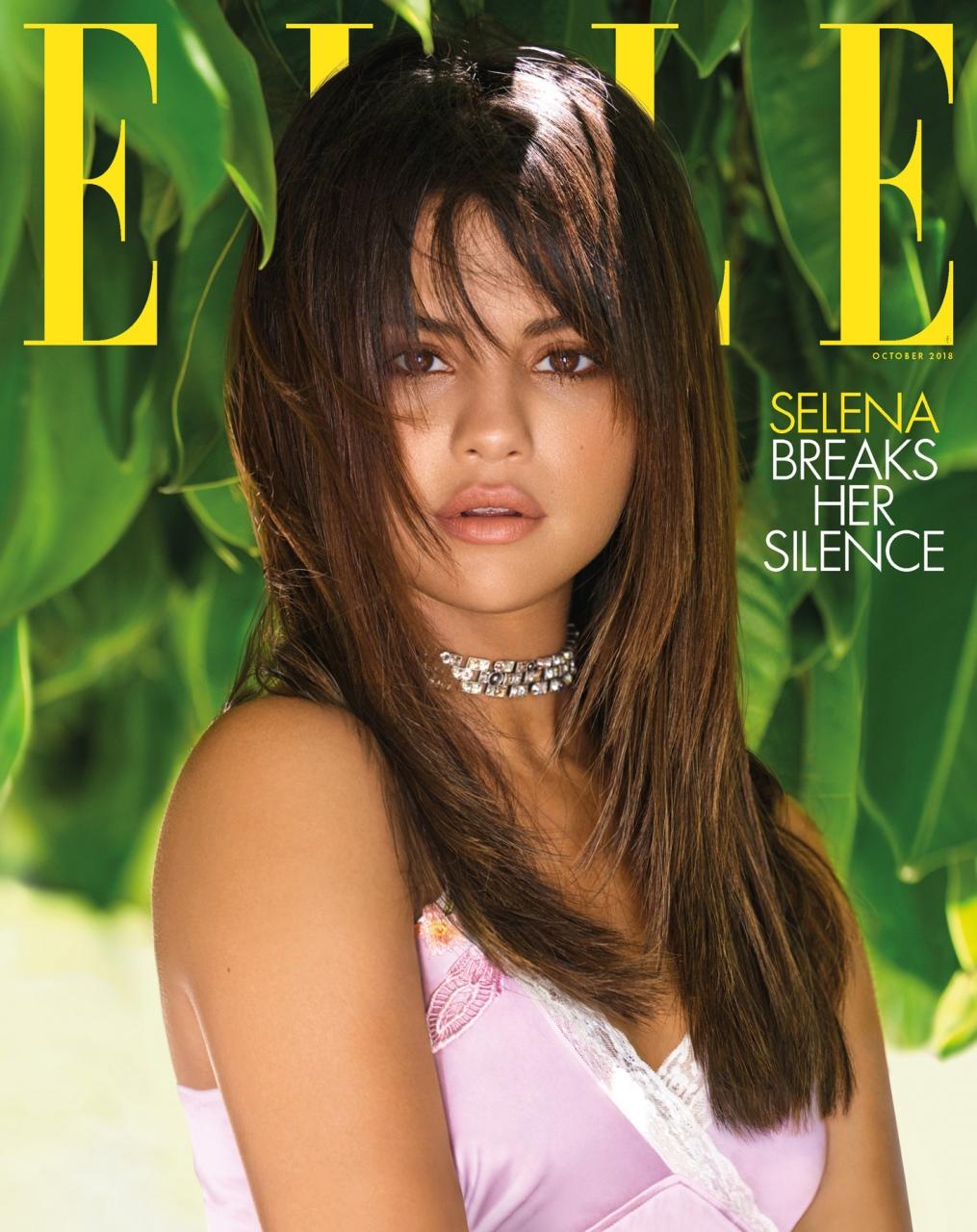 Selena Gomez by Mariano Vivanco for Elle US