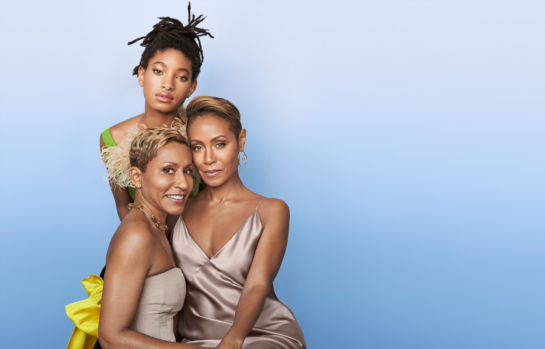 The New American Dynasty - Jada Pinkett-Smith, Willow Smith & Adreinne Banfield-Norris
