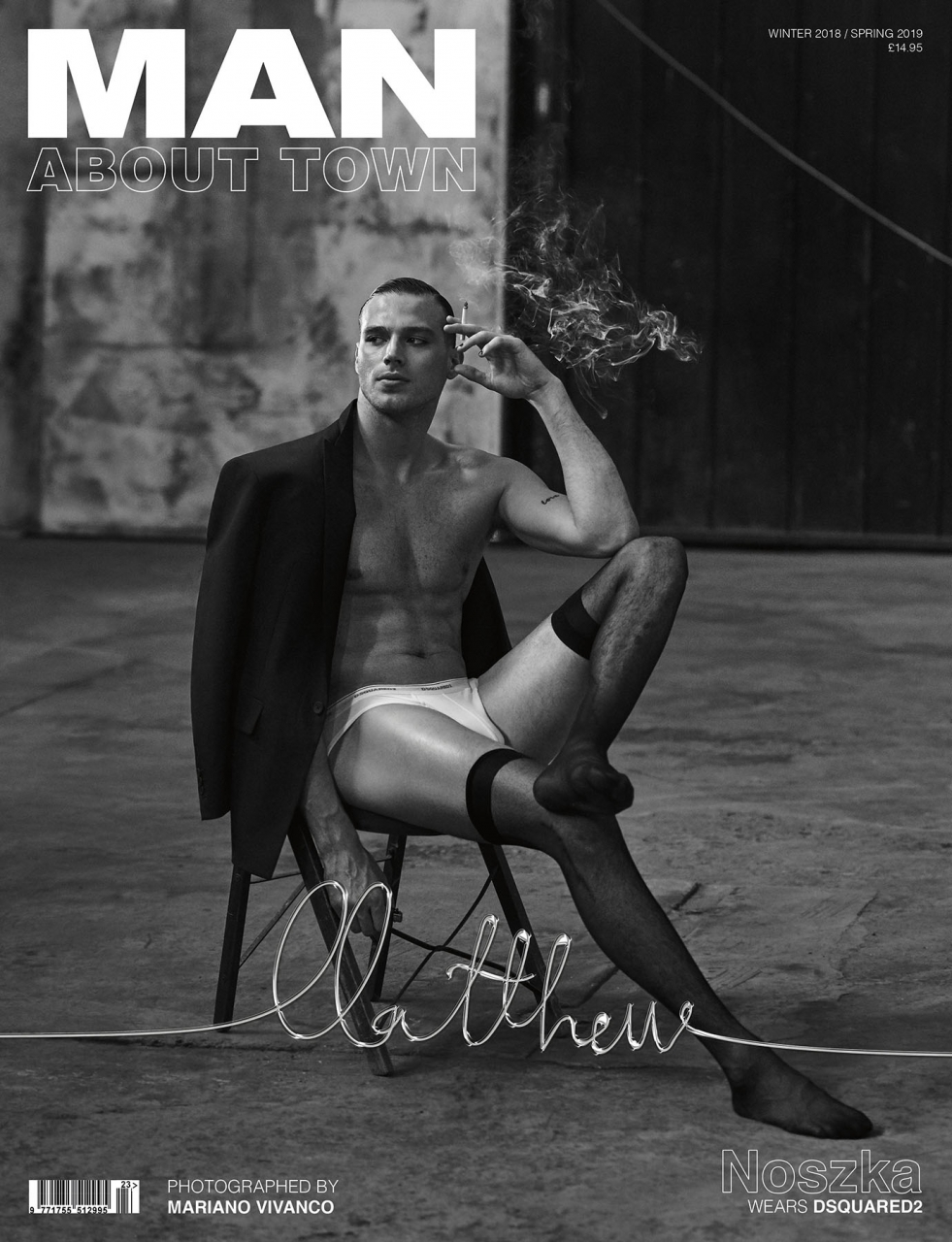 Me, Myself & I - Matthew Noszka by Mariano Vivanco for Man About Town