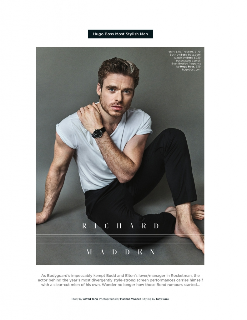 Hugo Boss Most Stylish Man – Richard Madden