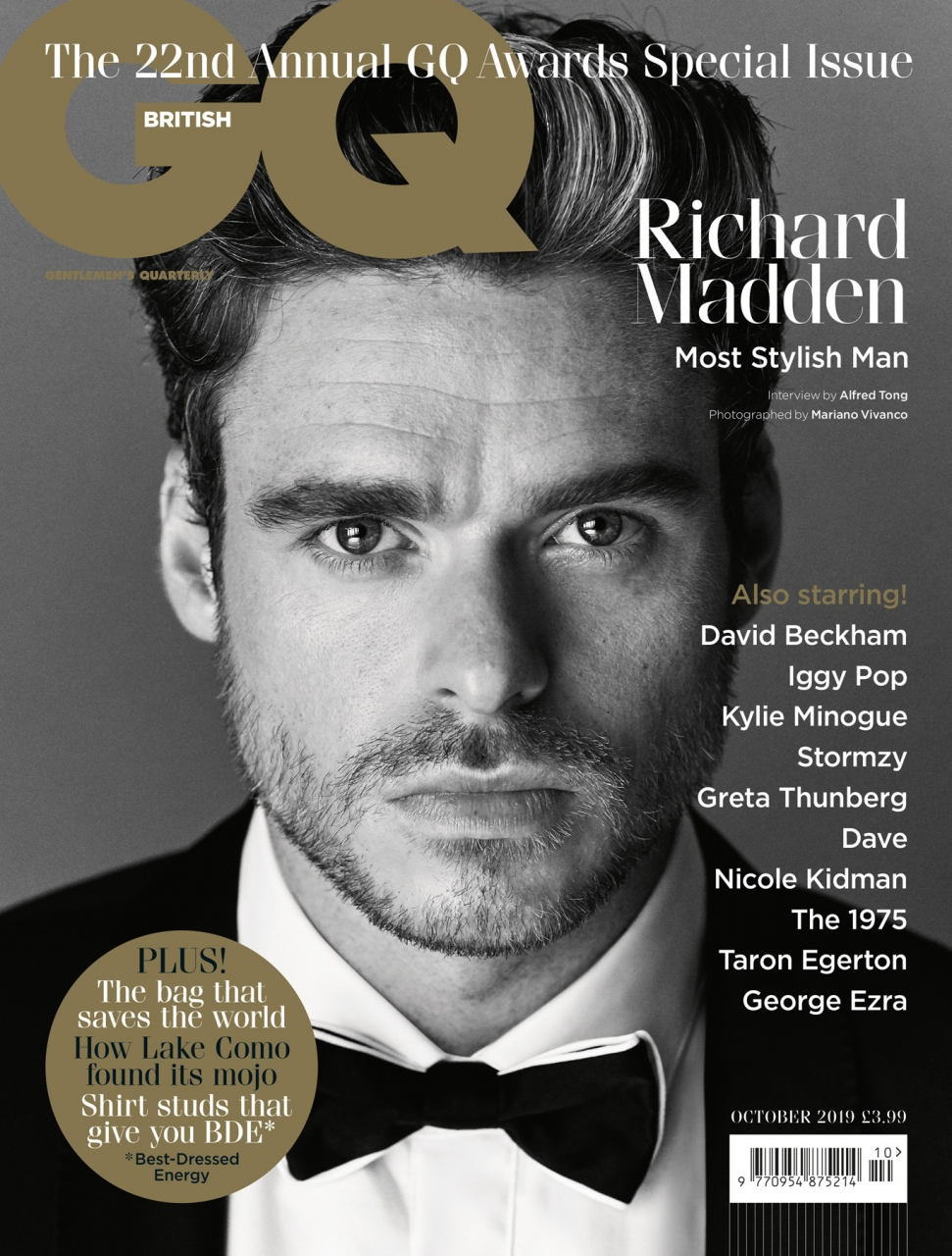 Hugo Boss Most Stylish Man - Richard Madden